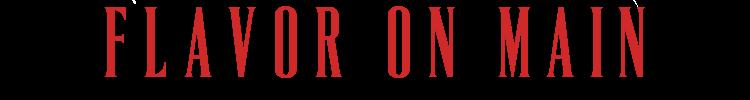 Flavor on Main's Logo.